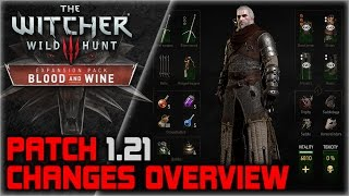 getlinkyoutube.com-WITCHER 3 Patch 1.21 Overview ► Changes to UI & HUD, Witcher Armor Sets, Animations, Menus