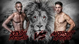 getlinkyoutube.com-KEVIN PETSHI vs ANTHONY RIGGIO LIONS FC VI - THE RETURN (MMA)