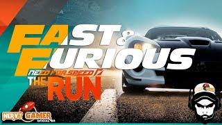 getlinkyoutube.com-Fast and Furious - Nervy e Furious Need for Speed The Run - The Movie - O Filme -