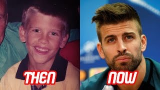 Gerard Pique Transformation Then And Now (Face & Hair Style) | 2017 NEW