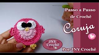getlinkyoutube.com-Passo a Passo Coruja de Crochê por JNY Crochê
