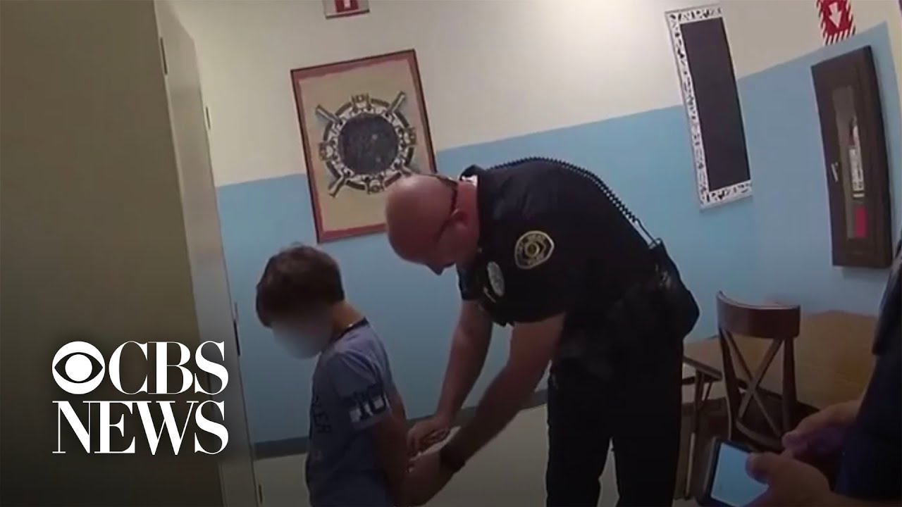 8-Year-Old Too Small For Handcuffs