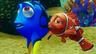 getlinkyoutube.com-Disney Infinity 3.0 - Finding Dory Playset Walkthrough Part 1 - Morro Bay