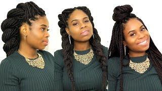 getlinkyoutube.com-TOP 7 Hairstyles For Box Braids/Senegalese Twist!