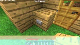 getlinkyoutube.com-Minecraft - Jak zrobić dzwonek do drzwi i kominek.