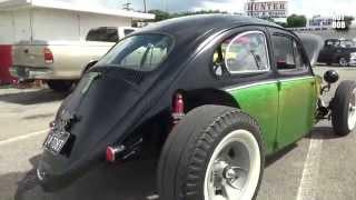 getlinkyoutube.com-Front Engine VW Beetle Hot Rod / Rat Rod