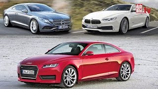 getlinkyoutube.com-Coupés (2016-2017) - BMW 6er, Audi A5, Mercedes E-Klasse