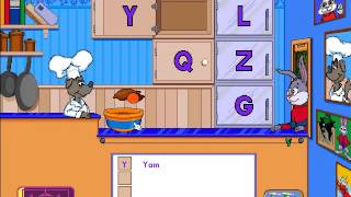 getlinkyoutube.com-Reader Rabbit Preschool - Part 1: ABC Diner (Ticket 1)