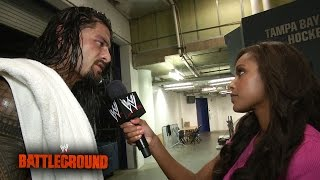 Roman Reigns se centra en Raw - Battleground post show
