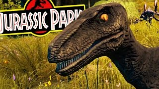 Ark Survival Evolved - JURASSIC PARK RAPTORS IN ARK ARE MY DREAM - (Ark Modded Gameplay)