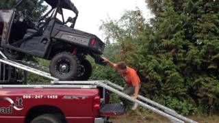 getlinkyoutube.com-Load-It: Over Cab UTV Loader