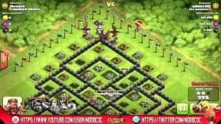 getlinkyoutube.com-La mejor estrategia por aire en Clash of Clans !! Dragones + Globos (Ataques en COC)