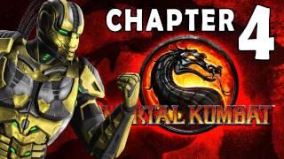 getlinkyoutube.com-Mortal Kombat 9 - Story Mode - Chapter 04: Cyrax 1080P Gameplay / Walkthrough
