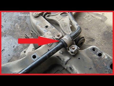 Как поменять втулки стабилизатора Peugeot Expert Fiat Scudo