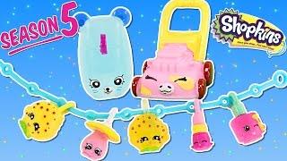 getlinkyoutube.com-NEW SHOPKINS - Season 5 Series 5 Brand New Shopkins Surprise Bookbag Toys