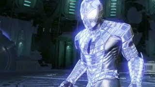getlinkyoutube.com-Spider-Man: Edge of Time - SPIDER ARMOR 2099 Spider Suit Review