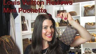 getlinkyoutube.com-Mini Pochette:Louis Vuitton Reviews
