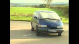 Old Top Gear 1990 - Volkswagen Transporter and Toyota Previa