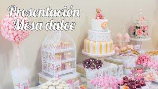 getlinkyoutube.com-Presentación y planificación | #1 Mesa dulce para Baby Shower | Quiero Cupcakes!