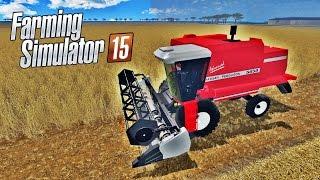 Colheitadeira Massey Ferguson 5650 - Farming Simulator 15