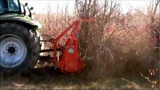 getlinkyoutube.com-Tractor Deutz Fahr echipat cu tocator forestier AF Agrimaster