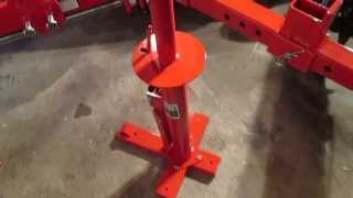 getlinkyoutube.com-DIY Motorcycle Manual Tire Changing Machine from Harbor Freight Tools Overview