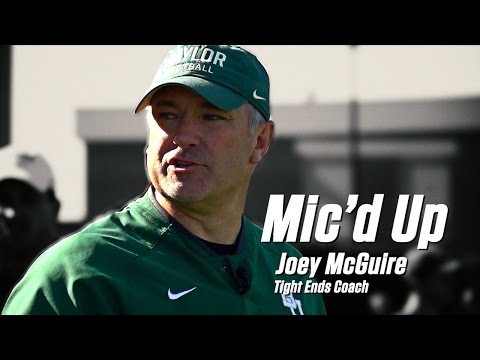 Baylor Football: Joey McGuire Mic'd Up