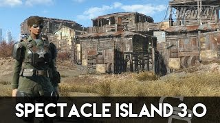 getlinkyoutube.com-Fallout 4 - Spectacle Island 3.0 (Fallout 4 Settlement Tour)