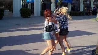 getlinkyoutube.com-Girl Fight - Let Go Of My Tit!