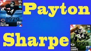 getlinkyoutube.com-Walter Payton Legend Pack opening and Sterling Sharpe - Most Feared Packs - Madden NFL 16 - MUT