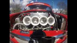 getlinkyoutube.com-Austin Mini Cooper S - Arden 8 Port Lucas Fuel Injection