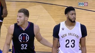 getlinkyoutube.com-Anthony Davis vs Blake Griffin Big-Men Duel 2016.12.02 - 21 Pts for AD, Griffin With 27 Pts!