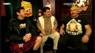 getlinkyoutube.com-The Iron Sheik goes nuts on Hulk Hogan