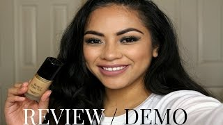 getlinkyoutube.com-Too Faced Born This Way Foundation : Review / Demo | Nicolette Maulupe