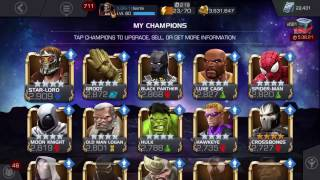 getlinkyoutube.com-Marvel contest of champions level up event and science advancement 5* antman rank 3 and 3*s