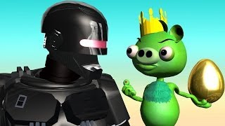getlinkyoutube.com-ROBOCOP 2014 ? ANGRY BIRDS ROBOBIRD !!  ♫ 3D animated  Angry Birds mashup  ☺ FunVideoTV - Style ;-))