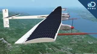 Solar Impulse Plane Takes Flight
