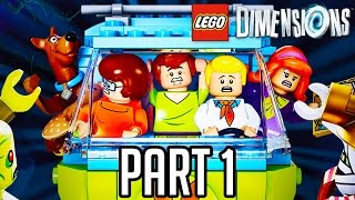 getlinkyoutube.com-LEGO Dimensions Scooby Doo Gameplay Part 1 - Level + Team Pack Walkthrough!! (PS4/XB1 1080p HD)