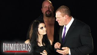 "getlinkyoutube.com-Big Show, Kane and Paige compete in ""WWE Immortals"""