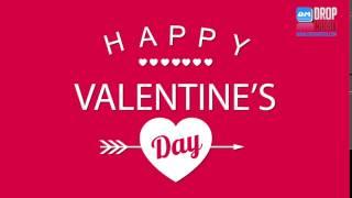 Happy Valentines Day 2017 by Drop Matrix Studio