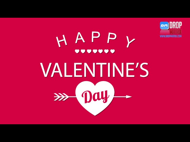 Happy Valentines Day 2017 by Drop Matrix Studio