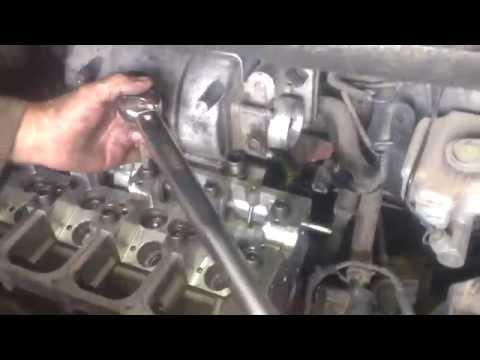 Сборка ГБЦ после ремонта, VW Caddy 2.0 SDI
