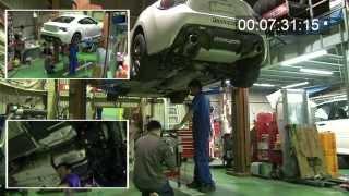 getlinkyoutube.com-トヨタ86&スバルBRZ  リヤデフASSYが降りるまで。