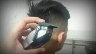 getlinkyoutube.com-Tutorial de barberia como hacer un skin fade paso a paso en español