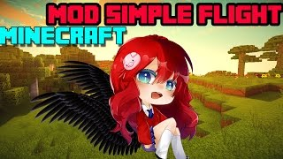 getlinkyoutube.com-Minecraft Mod รีวิว Mod Simple Flight ปีกสวรรค์