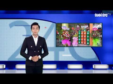 MỪNG KHAI TRƯƠNG NPOIL QUANG KHOA QUẢNG TRỊ QUA LĂNG KÍNH 24G BÁO TUỔI TRẺ ONLINE TV