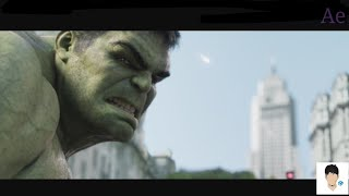 Hulk Transformation Aftereffects and Blender Tutorial