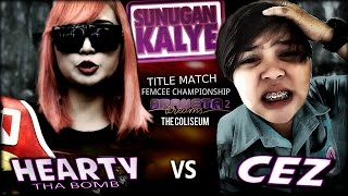 getlinkyoutube.com-SUNUGAN - Hearty Tha Bomb vs Cez  full Battle (Title match)