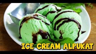 Cara Membuat Es Krim Alpukat | Avocado Ice Cream