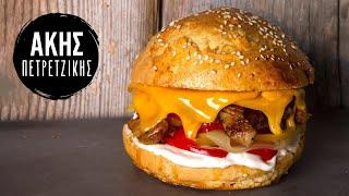 getlinkyoutube.com-Light Burger | Kitchen Lab by Akis Petretzikis